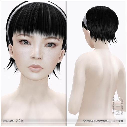 Tokyo.Girl - Hair Nia Ad