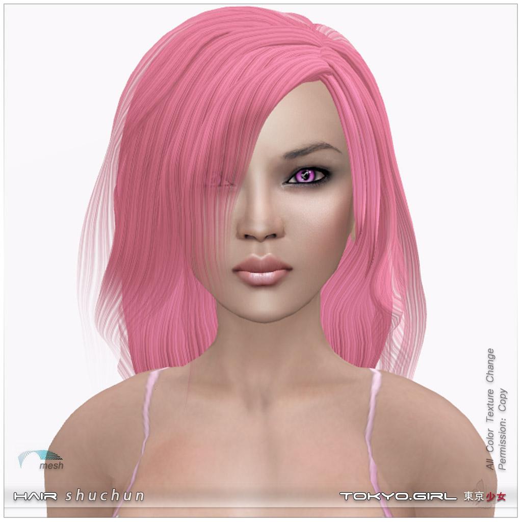 Hair Shuchun All Color Tokyorl