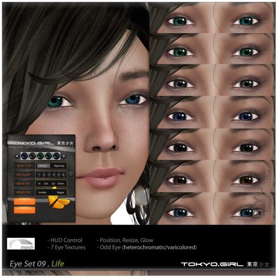 Tokyo.Girl - EyeSet ES9 Life Mesh Ad