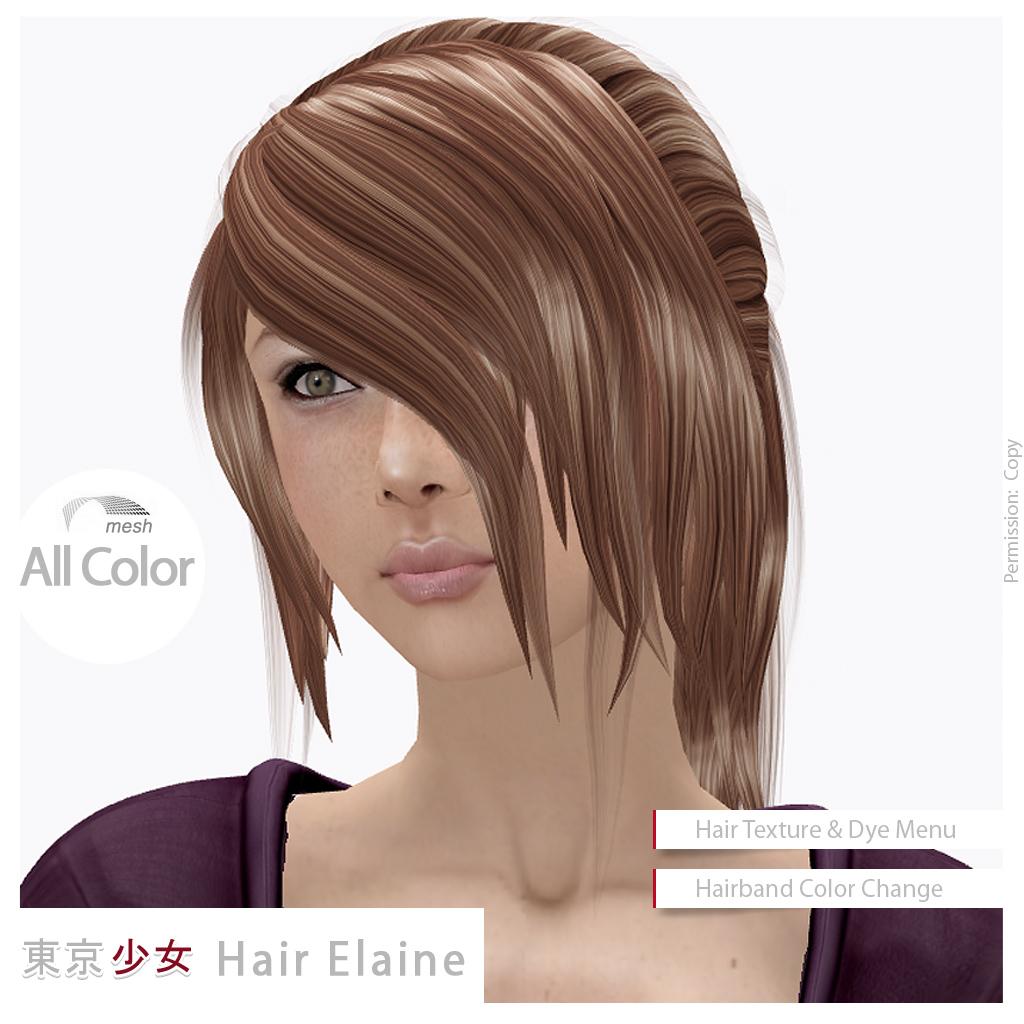Hair Elaine All Color Tokyorl