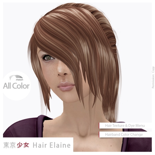 Tokyo.Girl Hair Elaine Ad2