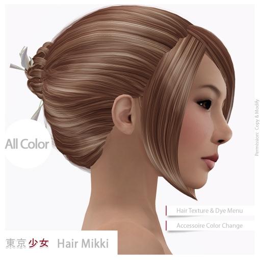 Tokyo.Girl Hair Mikki Ad