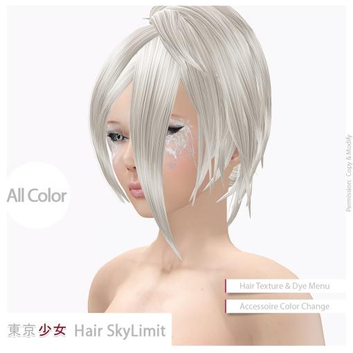 Tokyo.Girl Hair SkyLimit Ad02