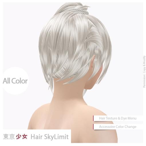 Tokyo.Girl Hair SkyLimit Ad03