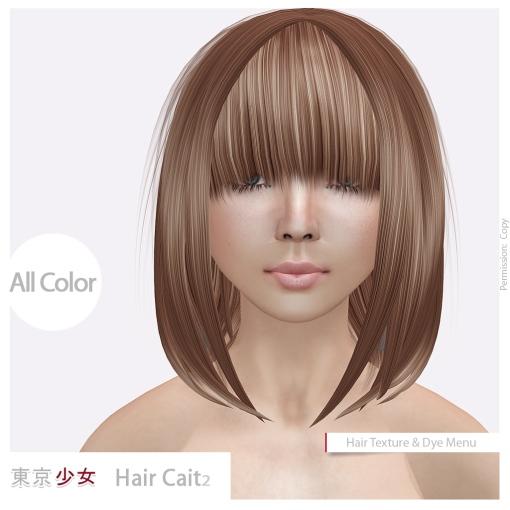 Tokyo.Girl Hair Cait II Ad