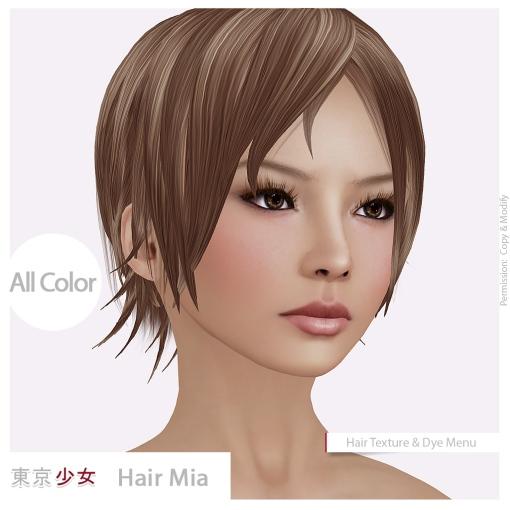 Tokyo.Girl Hair Mia Ad