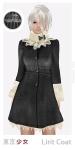 Tokyo.Girl Lirit Coat Black Wheat Ad
