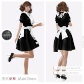 Tokyo.Girl Maid Dress Black2 Ad