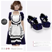 Tokyo.Girl Maid Dress Blue Ad