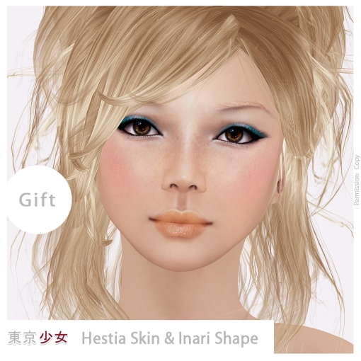 Tokyo.Girl - Hestia - Skin Fair 2014 - Gift - Ad