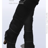 Tokyo.Girl . Lyke Boots . Black Ad