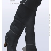 Tokyo.Girl . Lyke Boots . Grey Ad