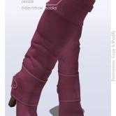 Tokyo.Girl . Lyke Boots . Pink Ad