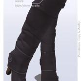 Tokyo.Girl . Lyke Boots . Rosy Grey Ad
