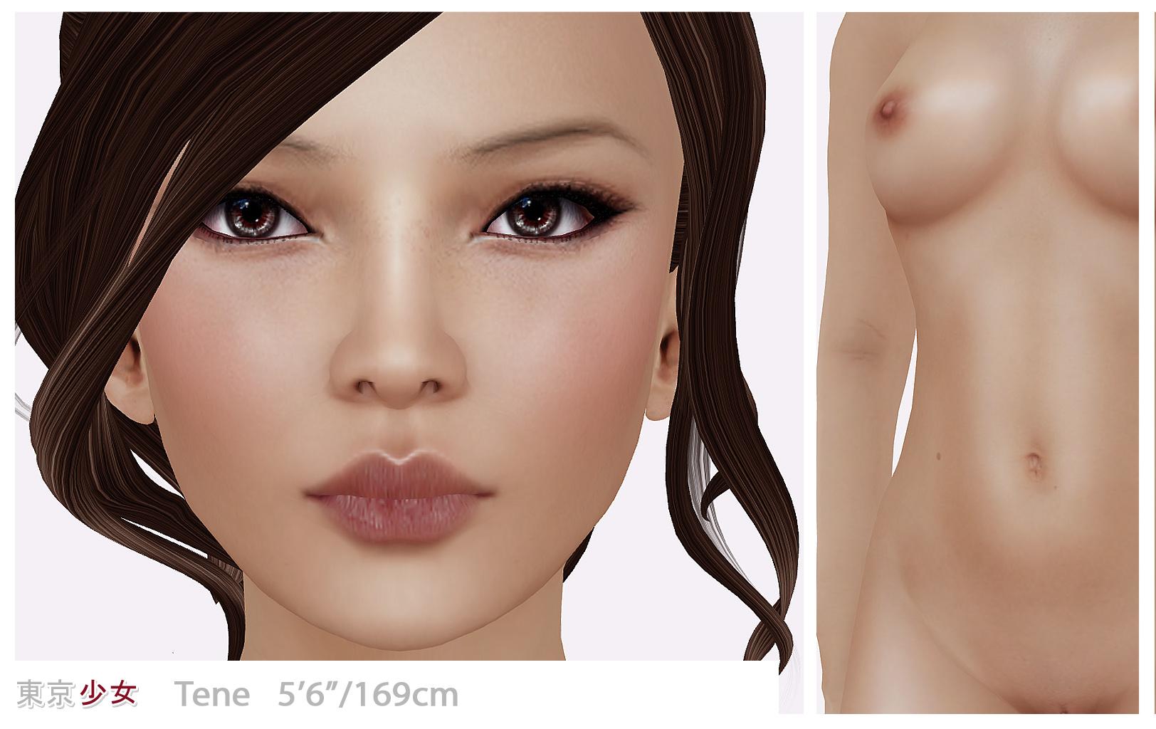 Female Body Shape  Tokyogirl-9812